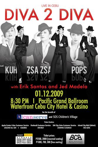 Diva concert poster