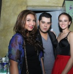 Bubbles Paraiso, Raymond Gutierrez, and Georgina Wilson