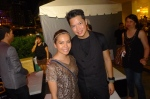 Cybill Gayatin and Globe's Don Ronquillo