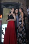Georgina Wilson, Raymond Gutierez, and Isabelle Daza at The Penthouse.