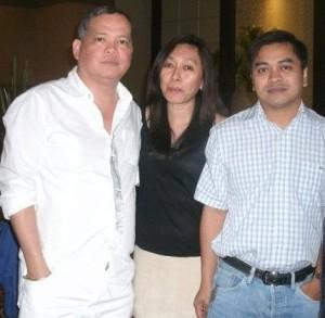 Bobby Nalzaro, Doris Isubal-Mongaya, Ruphil Bañoc